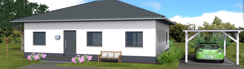 SL Bungalow 079 - SL Bau - Massivhäuser in Sachsen-Anhalt, Magdeburg ...