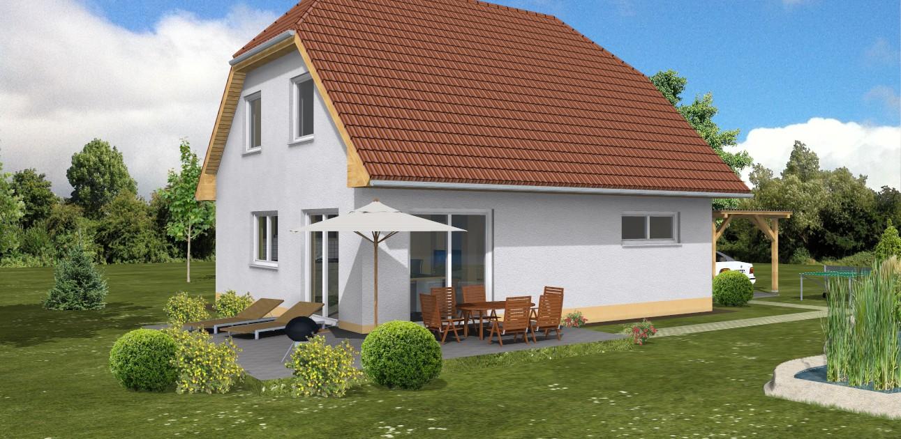 SL Einfamilienhaus 129 - SL Bau - Massivhäuser in Sachsen-Anhalt ...